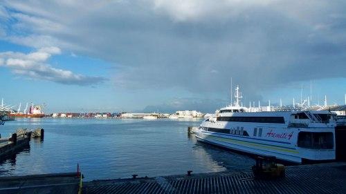 Fährhafen von Papeete