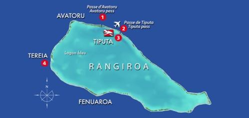 Rangiroa Map